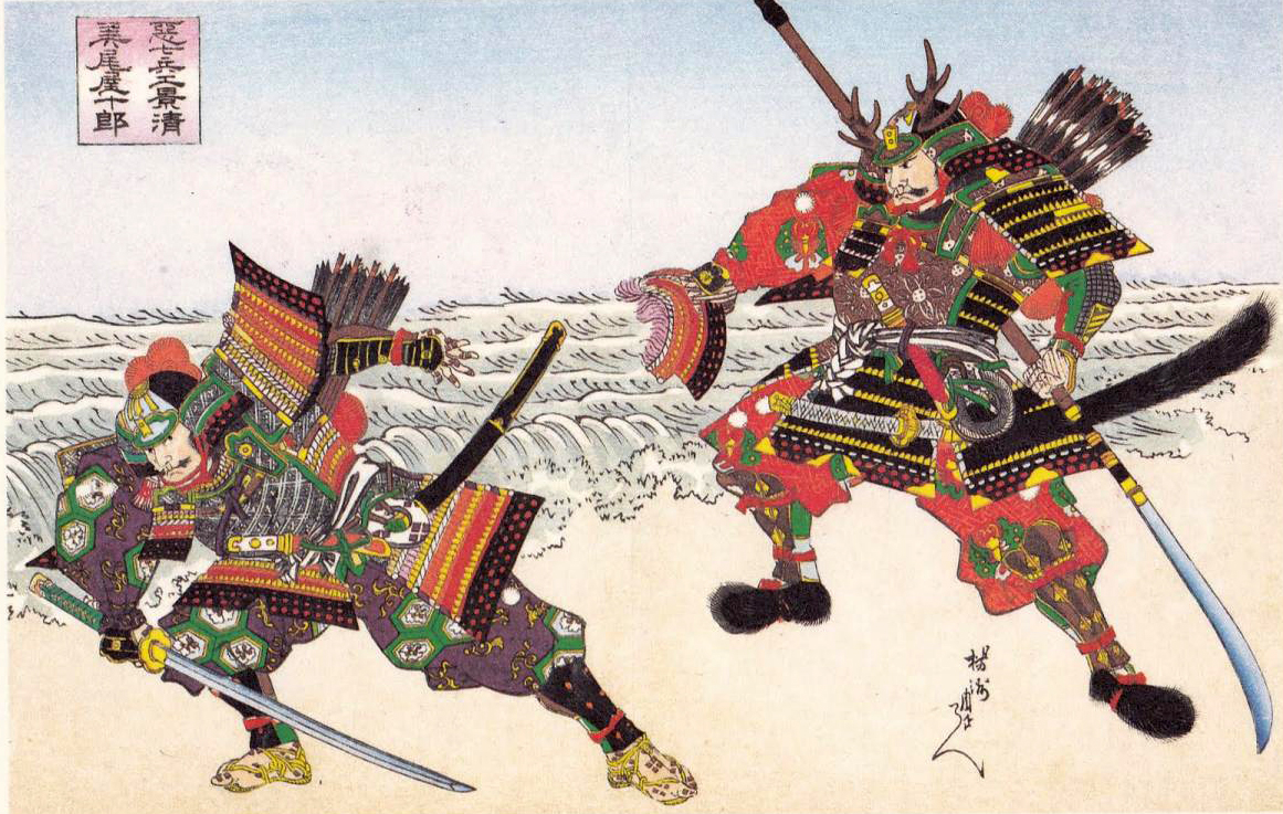 estampe_samourai_duel