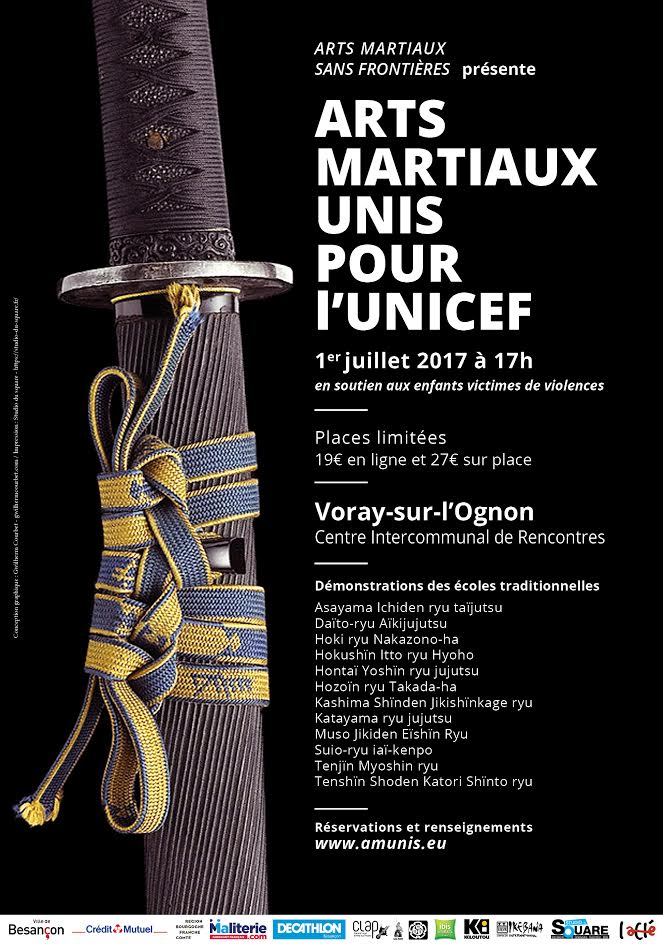 affiche gala arts martiaux traditionnels
