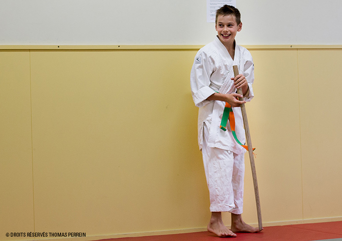 enfant bokken dojo