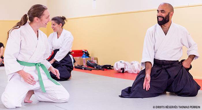 aikido suwari waza adultes