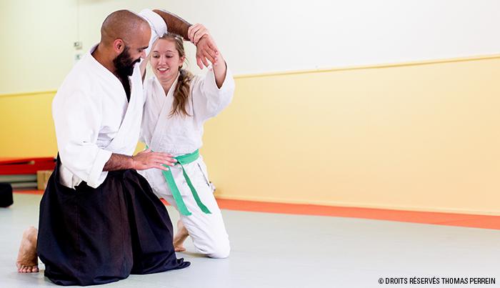 aikido suwari waza ikkyo