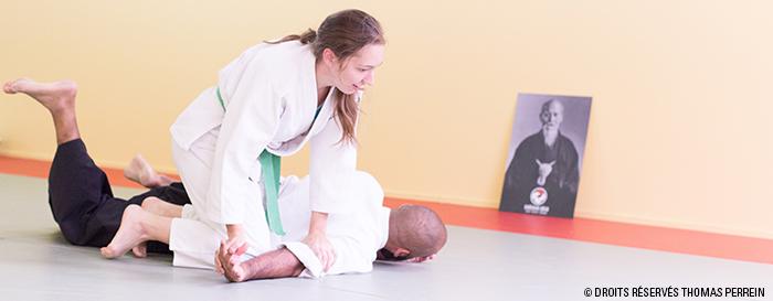 aikido suwari waza ikkyo immobilisation
