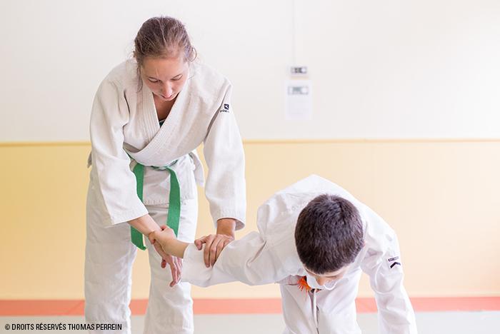 aikido adulte et enfant ikkyo