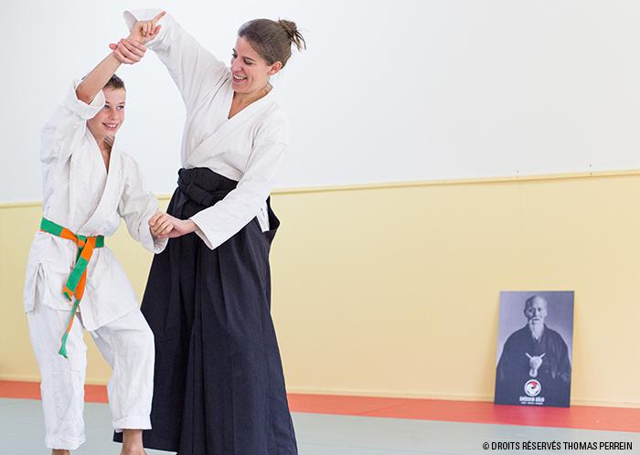 aikido adulte et enfant