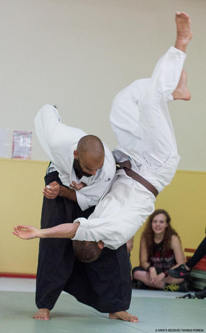 aikido koshi nage