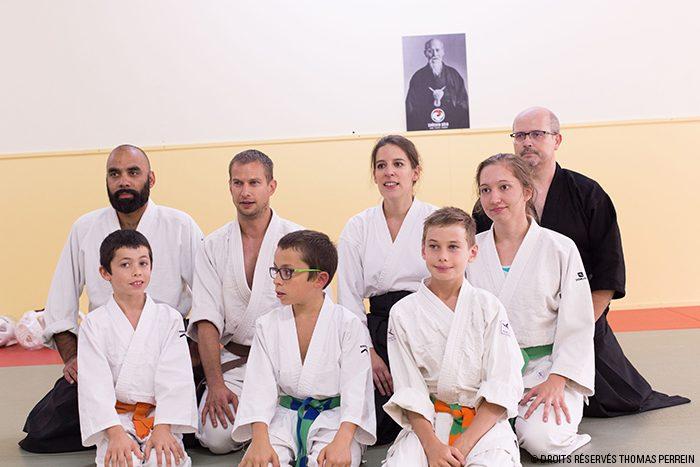 shoshin dojo seiza participants
