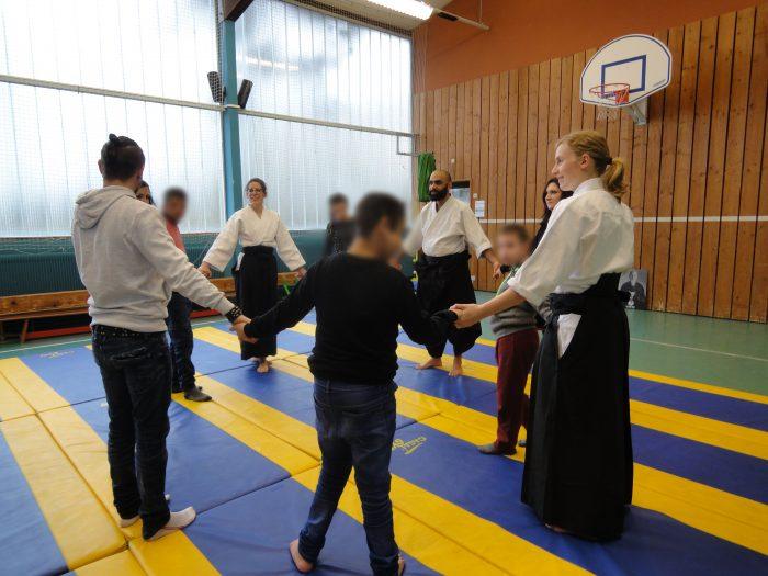 aikido ronde pour le salut