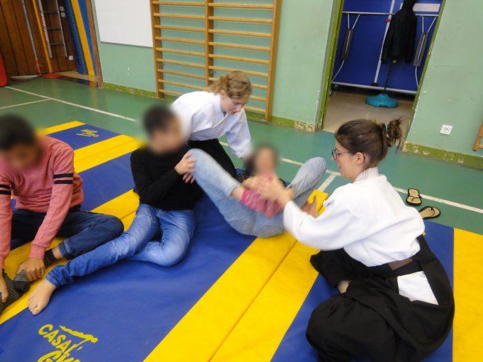 aïkido pour tous jeux au sol