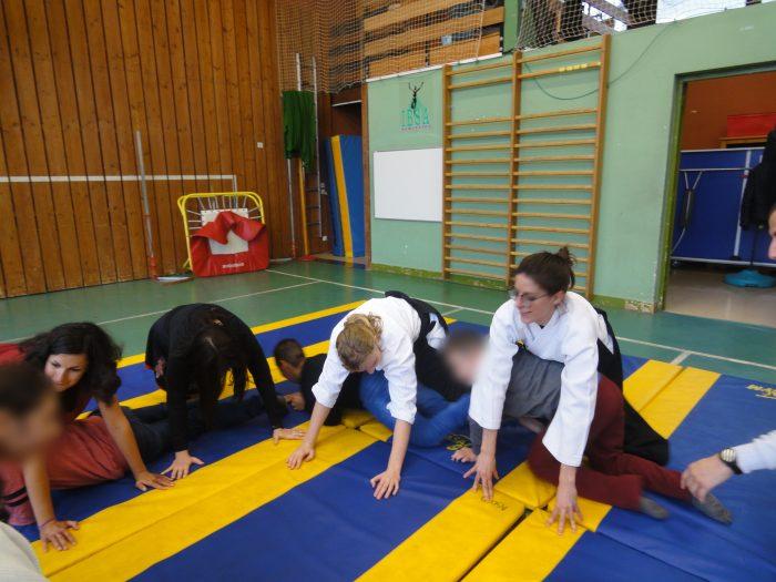 aikido jeux au sol