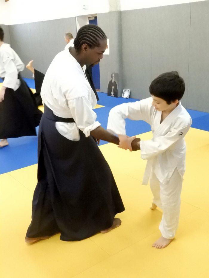 aïkido enfants Besançon