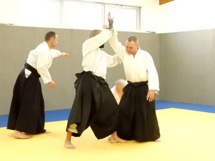 Shoshin Dojo stage aïkido Rémi Soufflet