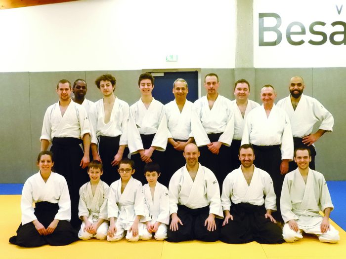 Shoshin Dojo stage de Rémi Soufflet photo de groupe