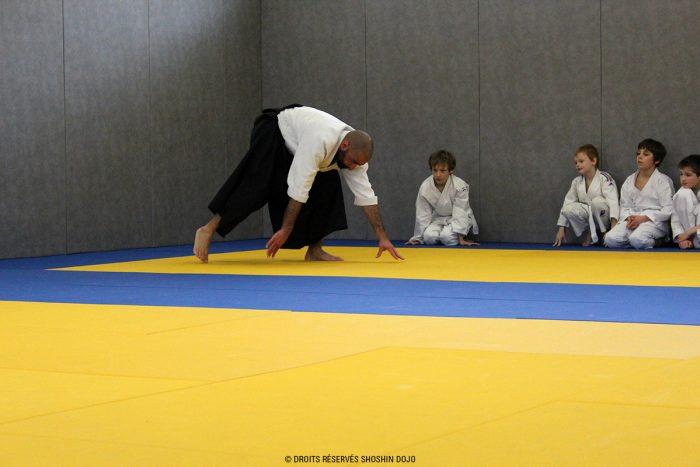 shoshin_dojo_aikido_stage_enfants_exercice_chute_avant