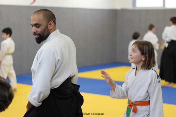 shoshin_aikido_stage_enfants_besançon_exercice_henka_alban