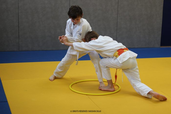 shoshin_aikido_stage_enfants_besançon_exercice_opposition
