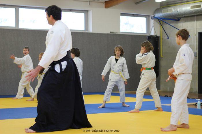 shoshin_aikido_stage_enfants_besançon_kamae_julien