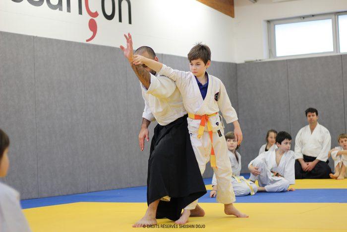 shoshin_aikido_stage_enfants_besançon_kokyu_nage