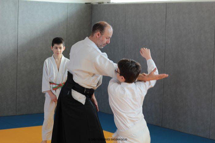 shoshin_stage_aikido_besançon_rémi_enfants