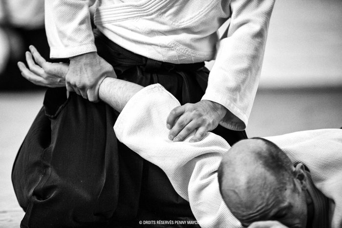 aikido_ikkyo_controle