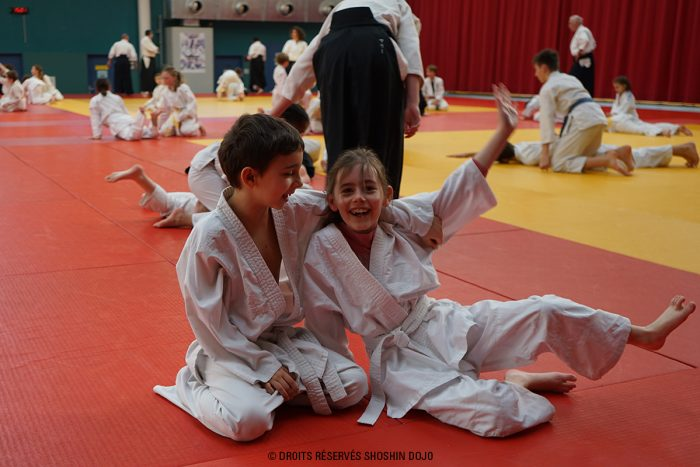 stage aïkido enfants à Besançon