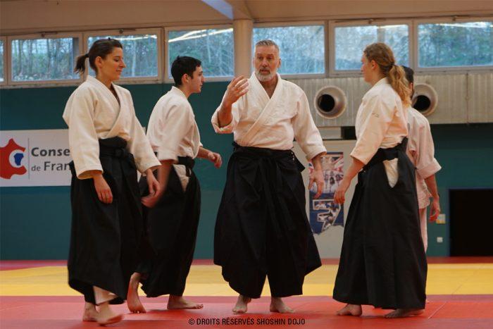 Fabrice De Ré formation des enseignants d'aïkido