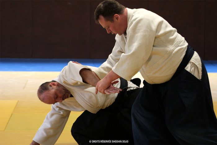 Rémi Soufflet à Besançon - stage d'aïkido