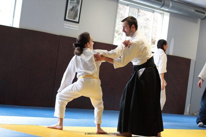 stage d'aïkido à Besançon jeune