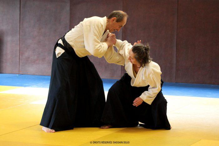 Pierre Mathieu 6ème dan d'aïkido