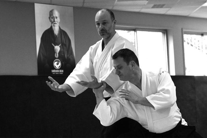 stage d'aïkido à Besançon animé par Rémi Soufflet