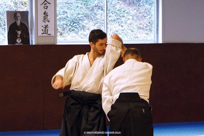 aïkido ukemi shiho nage
