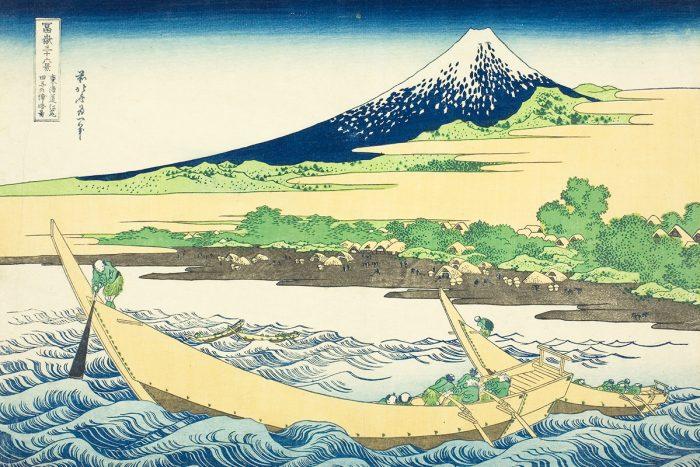 estampe d'Hokusai