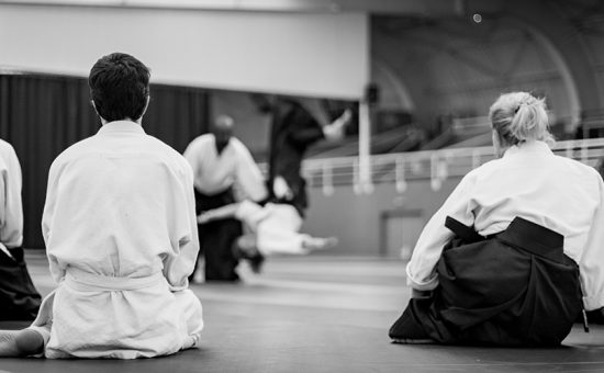 stage d'aïkido animé par Mare Seye à Besançon
