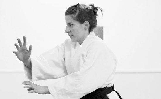 enseignante aikido à Besançon