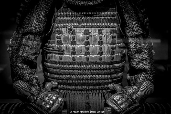 armure_japonaise_cuirasse_de_face