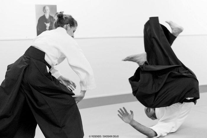 chutes en aikido