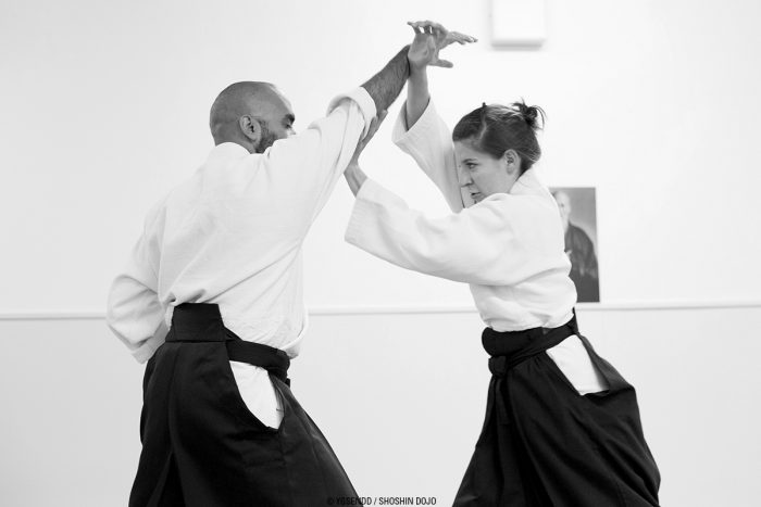 femme aikido besançon shoshin dojo