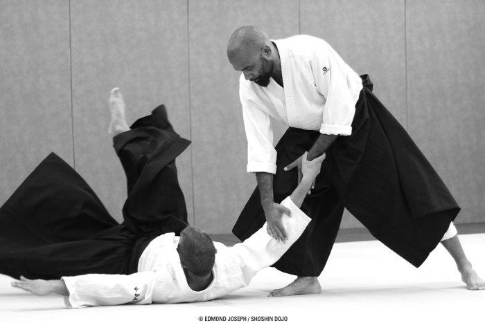 aïkido à Besançon entraînement