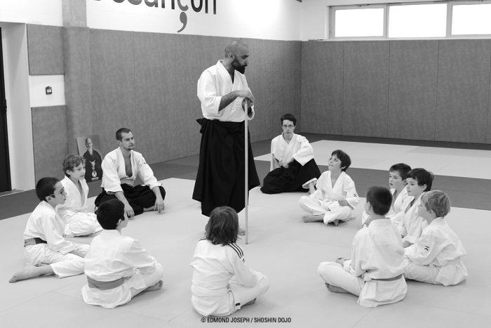 stage enfants d'aïkido à Besançon