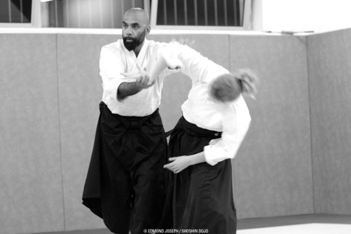Cours d'aïkido à Besançon