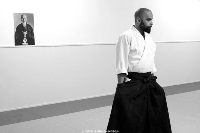 enseignant aïkido à Besançon dans le dojo